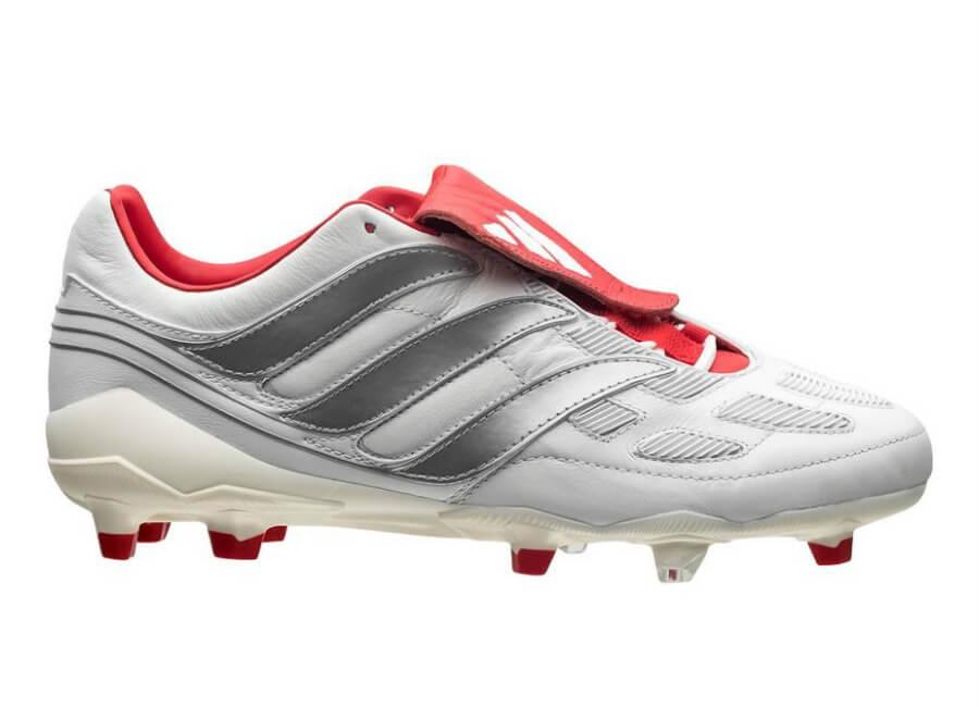 Adidas Predator Precision Fg David Beckham Boots White Silver