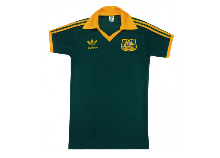 Adidas 1986-88 Australia Match Issue Away Shirt  socceroos  GoSocceroos   matchworn   624679081