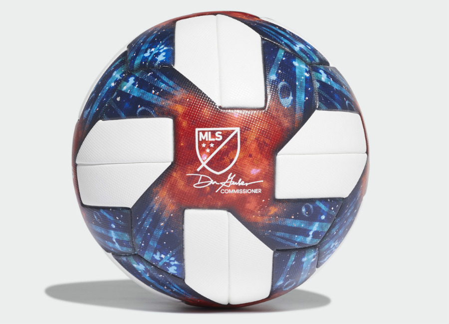 Adidas 2019 MLS Official Match Ball - White / Silver Met