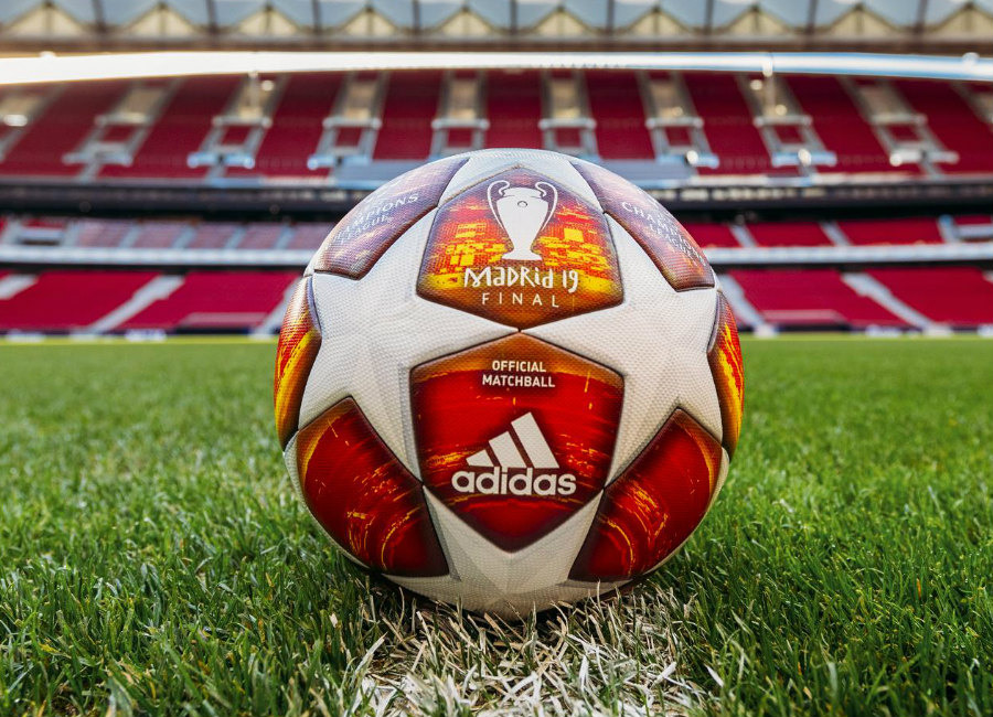 Adidas Champions League 2019 Final Match Ball - White / Action Red #adidasfootball #ucl #adidassoccer
