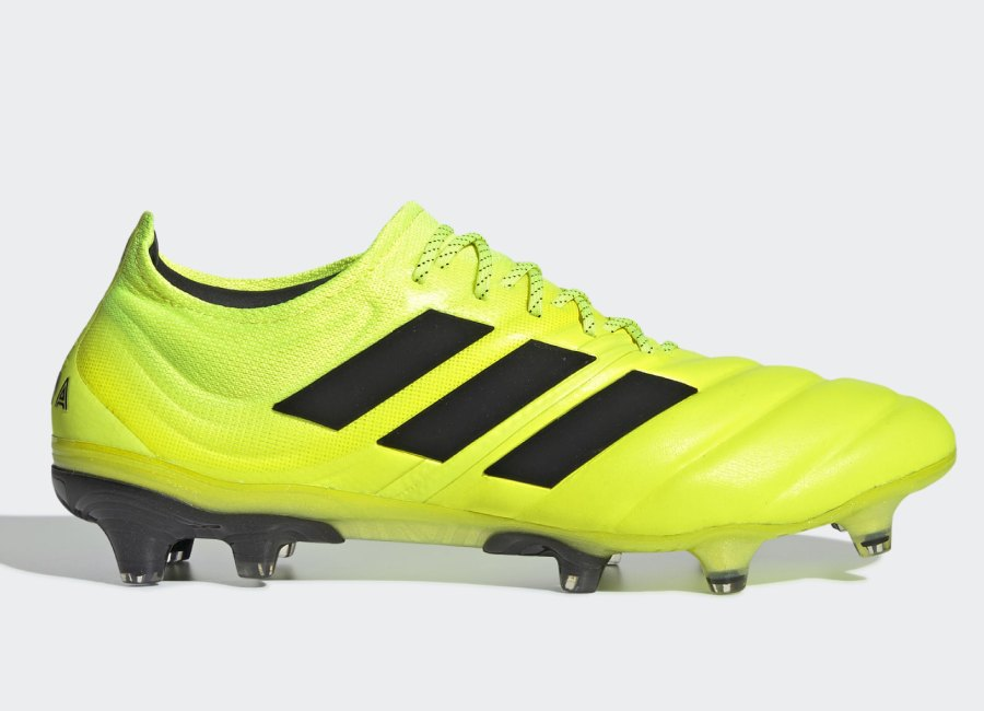 Adidas Copa 19.1 FG Hard Wired - Solar Yellow / Core Black / Solar Yellow #Adidasfootball #Adidassoccer