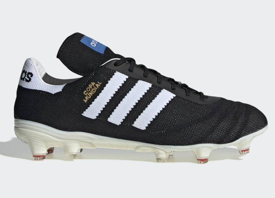 Adidas Copa Mundial 70 years FG - Core Black / Ftwr White / Red #adidasfootball #adidassoccer #footballboots