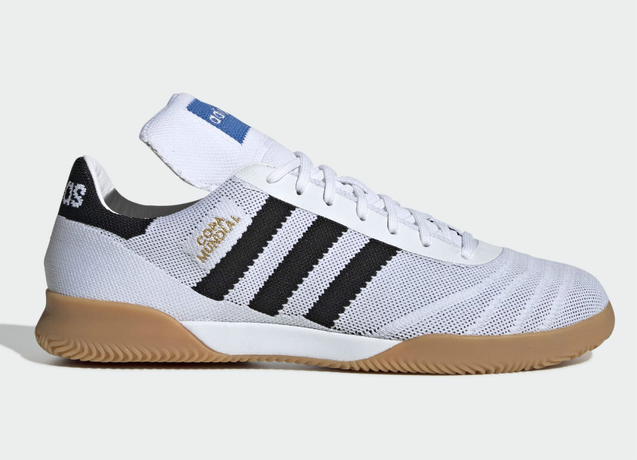 Adidas Copa Mundial 70 Years Trainers - Ftwr White / Core Black / Red #Adidasfootball #Adidassoccer #Futsal