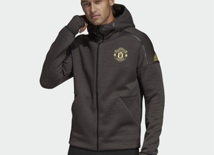Adidas Manchester United Chinese New Year Adidas Z.N.E. Hoodie - Black / Carbon #mufc #manchesterunited