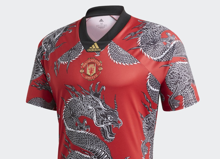 Adidas Manchester United CNY Jersey - Real Red #mufc #manchesterunited #adidasfootball