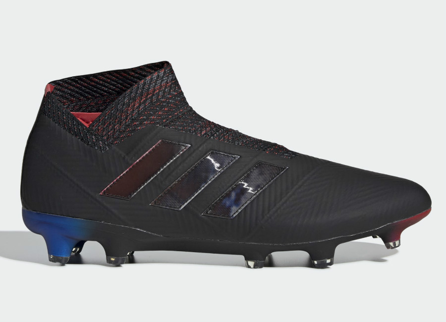 Adidas Nemeziz 18+ FG Archetic - Core Black / Core Black / Football Blue #Adidasfootball #Footballboots