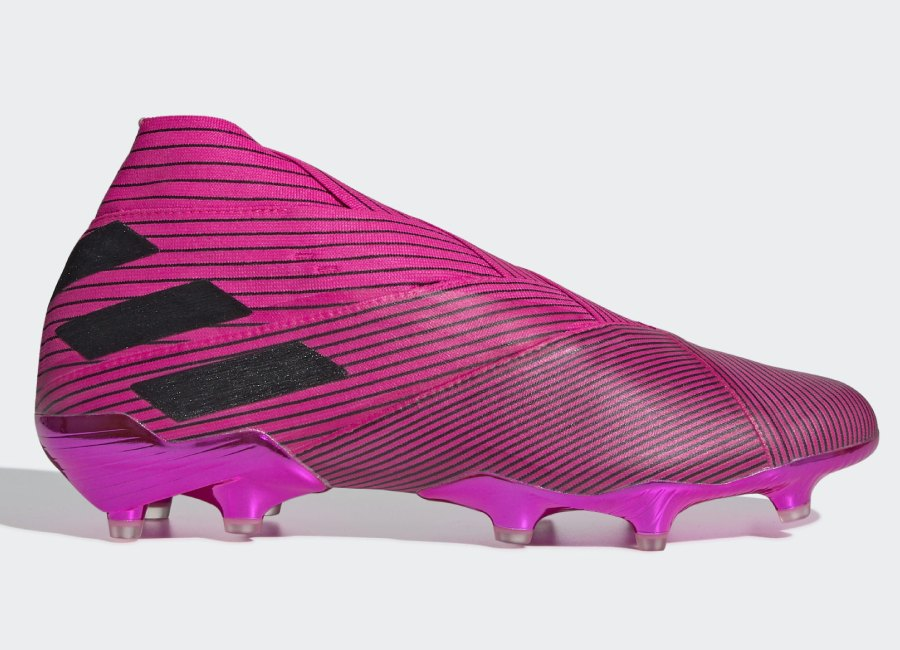 Adidas Nemeziz 19+ FG Hard Wired - Shock Pink / Core Black / Shock Pink #adidasfootball #adidassoccer