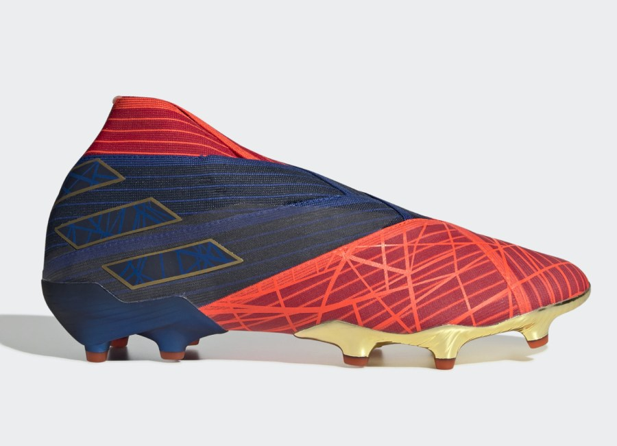Adidas Nemeziz 19+ FG Marvel Spiderman - Active Red / Blue / Core Black #footballboots #adidasfootball