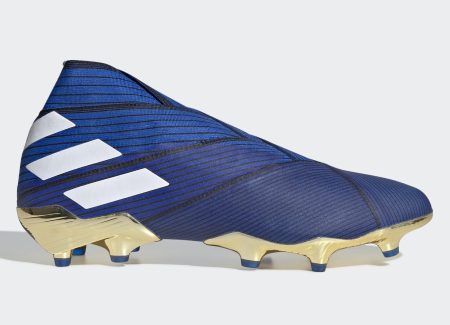 Adidas Nemeziz 19+ FG Inner Game - Football Blue / Ftwr White / Core Black #adidasfootball #adidassoccer #footballboots
