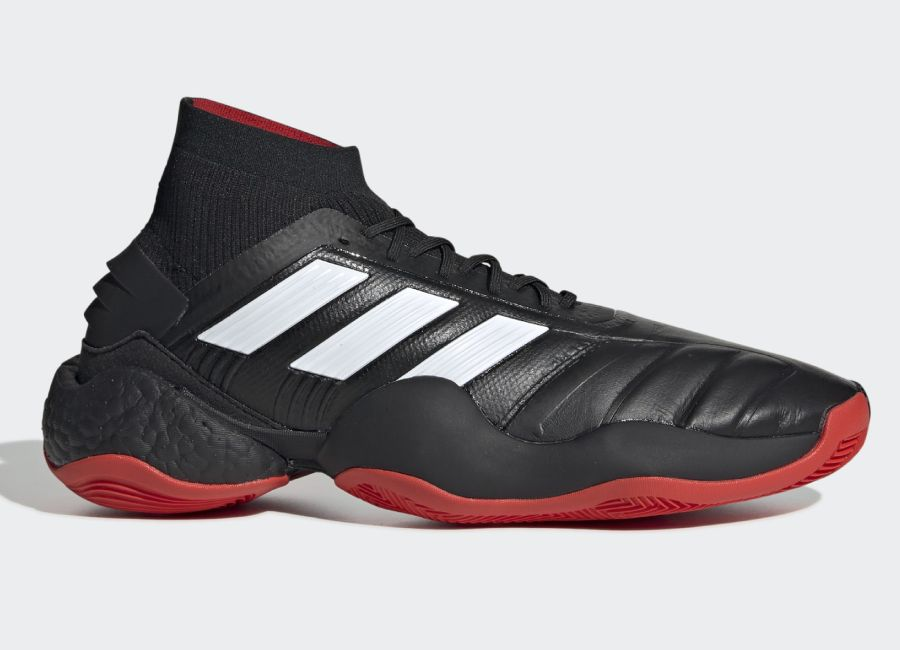 Adidas Predator 19.1 25 Year Trainers - Core Black / Predator Red / White #adidasfootball #adidaspredator