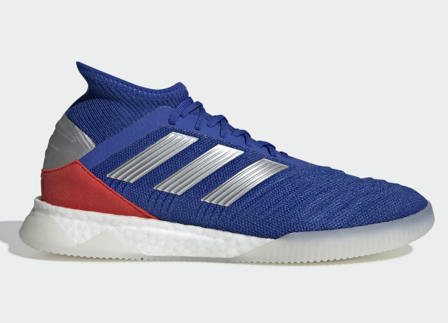 Adidas Predator 19.1 Exhibit Trainers - Bold Blue / Cloud White / Active Red #adidasfutbol #adidasfootball #adidassoccer
