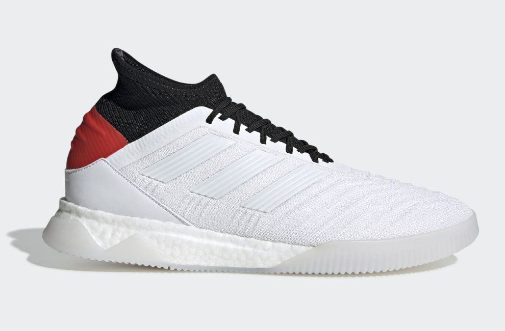 Adidas Predator 19.1 302 Redirect Trainers - Ftwr White / Ftwr White / Hi-Res Red #adidasfootball