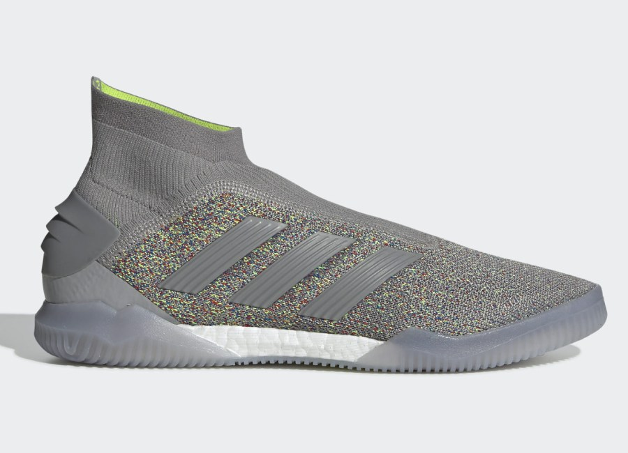Adidas Predator 19+ Celebration Trainers - Ch Solid Grey / Active Red / Solar Yellow #adidasfootball