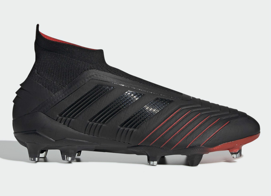 Adidas Predator 19+ FG Archetic - Core Black / Core Black / Active Red