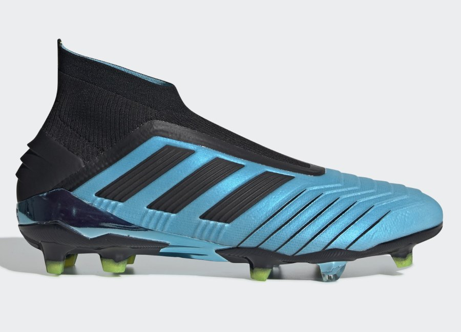 Adidas Predator 19+ FG Hard Wired - Bright Cyan / Core Black / Solar Yellow #Adidasfootball #Adidassoccer