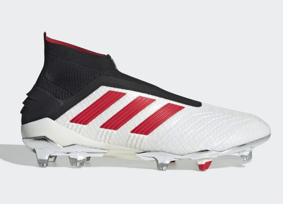 Adidas Predator 19+ FG Paul Pogba - Ftwr White / Red / Core Black #adidasfootball #footballboots #PaulPogba