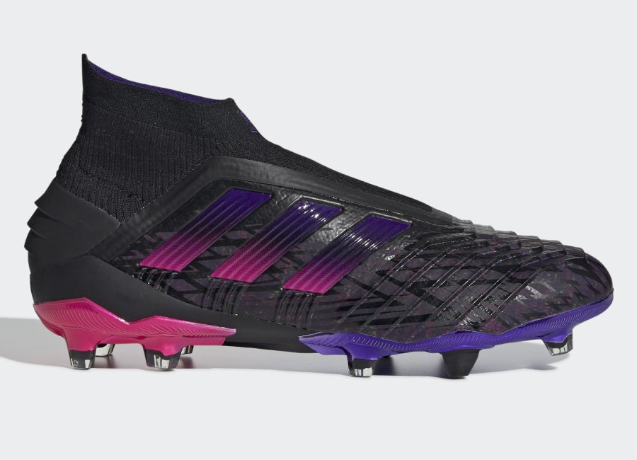Adidas Predator 19+ Paul Pogba Firm Ground Boots - Core Black / Core Black / Shock Pink #PaulPogba #Pogba #adidasfootball