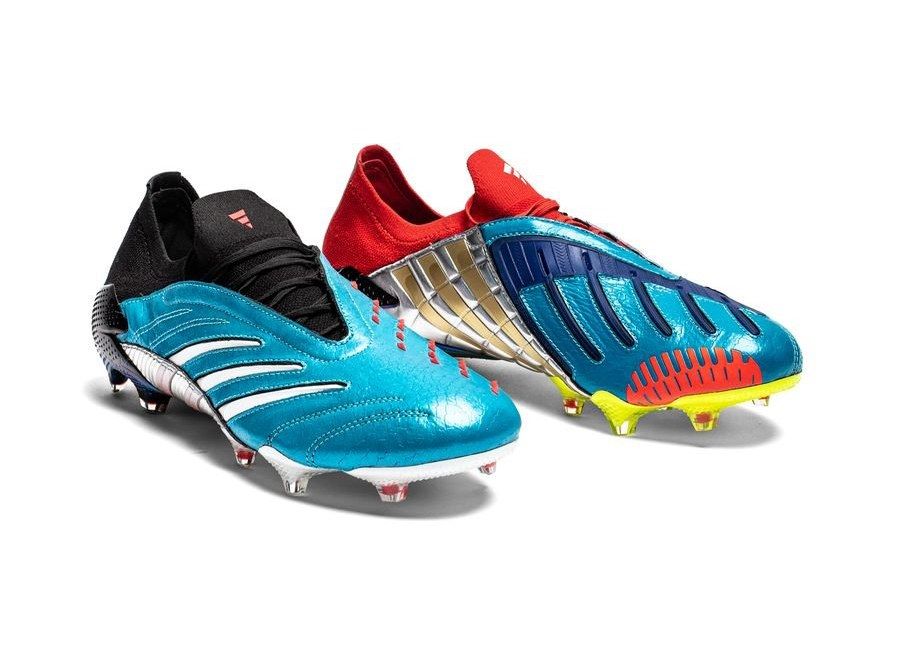 Adidas Predator Archive FG - Core Black / Cloud White / Red #adidasfootball #footballboots