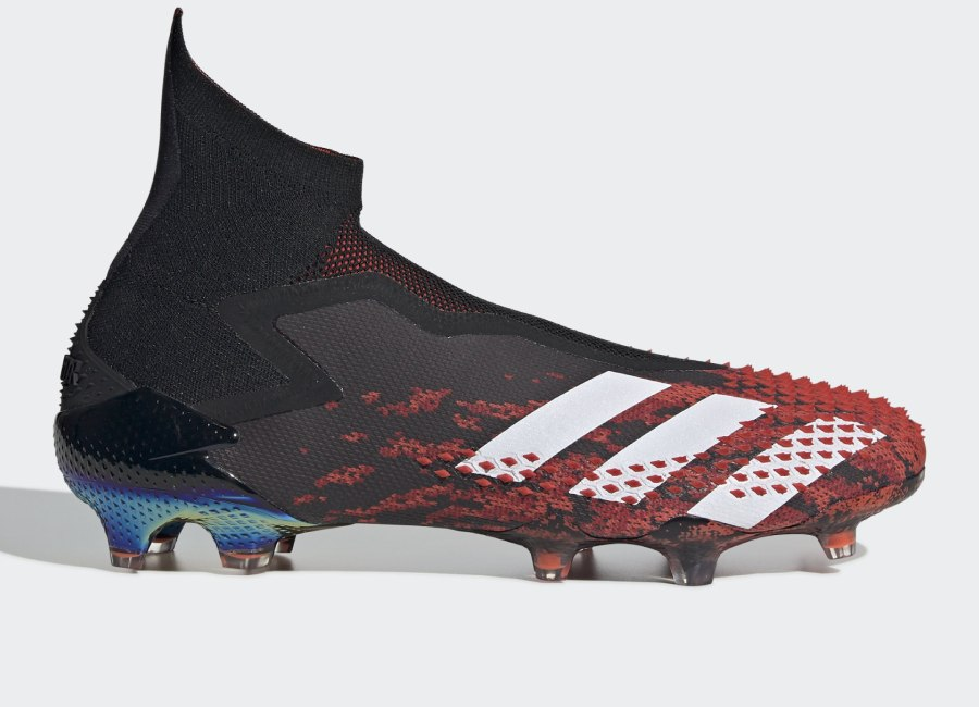 Adidas Predator 20+ FG Mutator - Core Black / Cloud White / Active Red #adidasfootball #footballboots #adidassoccer