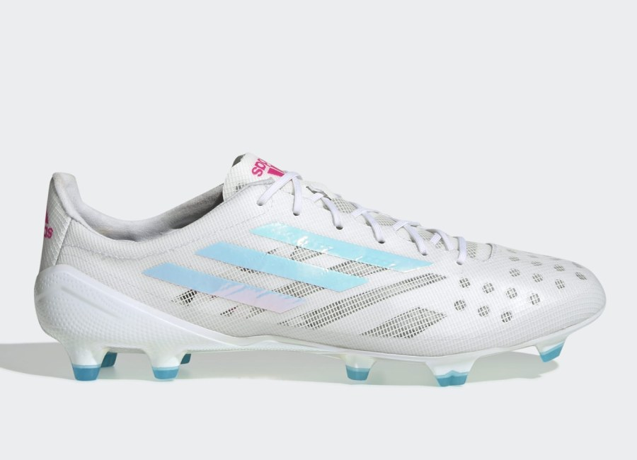 Adidas X 99.1 FG - Cloud White / Core Black / Solar Red #footballboots #adidasfootball #adidassoccer