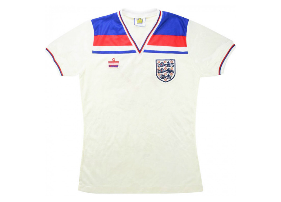 Admiral 1980-83 England Match Issue Home Shirt #matchworn #thefa #footballshirt