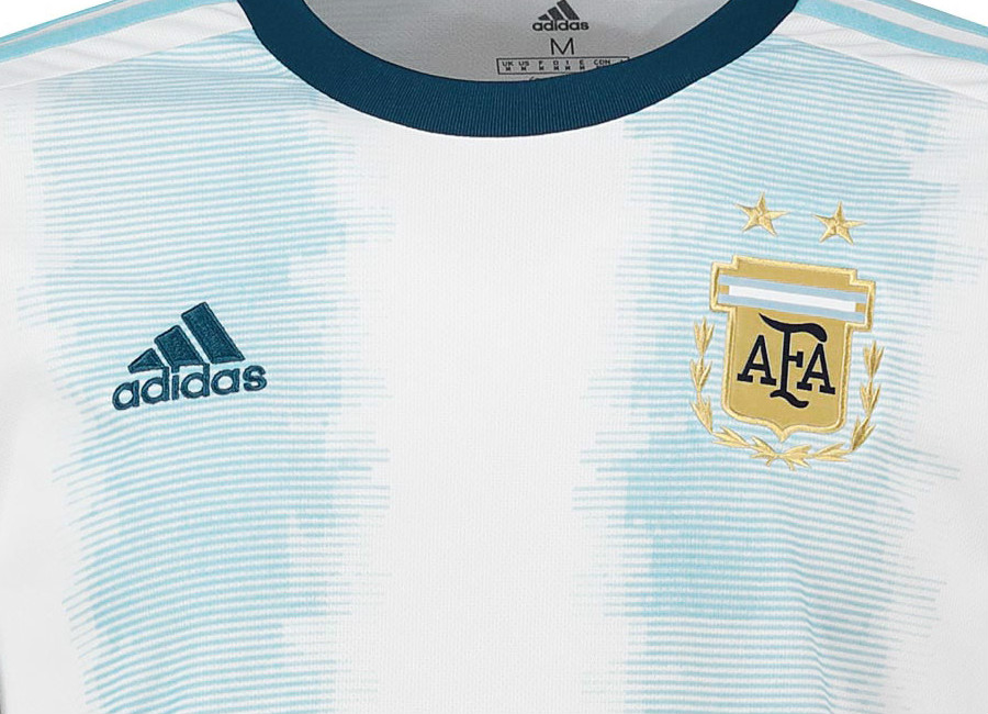 Argentina 2019 Copa América Adidas Home Kit #adidasfootball #adidassoccer #CopaAmerica2019