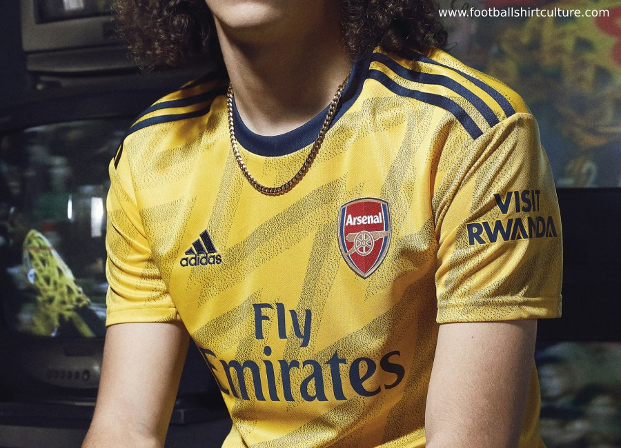Arsenal 2019-20 Adidas Away Kit #Arsenal #Arsenalfc #adidasfootball