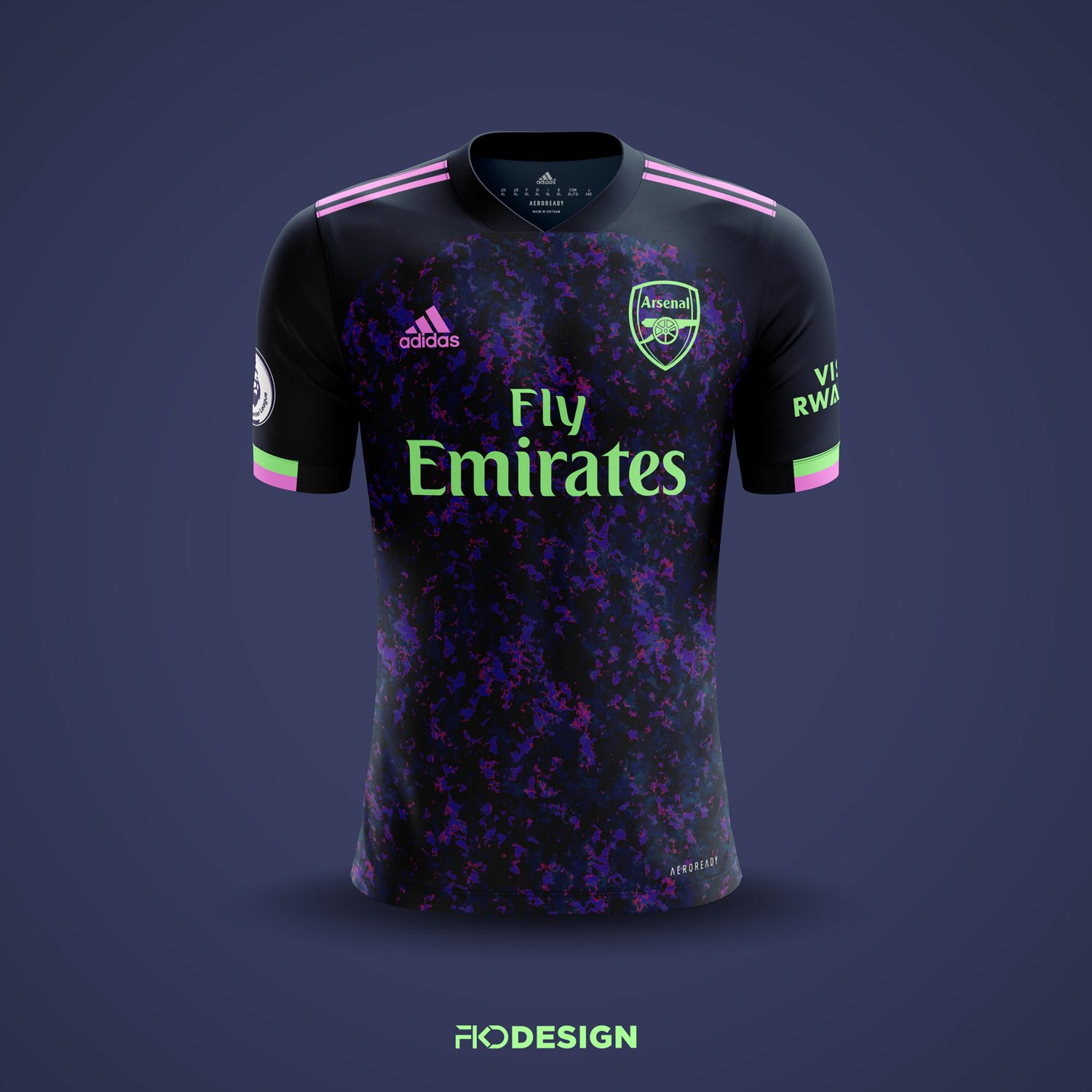 Arsenal 2020 21 Third Kit Prediction Kit Design Football Shirt Blog
