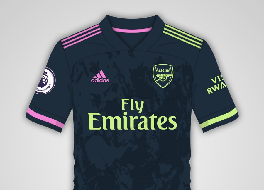 Arsenal 2020-21 Third Kit Prediction #arsenal #WeAreTheArsenal #arsenalfc