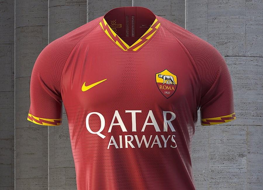 AS Roma Home Football Kit