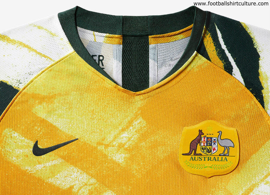 Australia 2019 Women's World Cup Nike Home Kit #nikefootball #nikesoccer #theMatildas