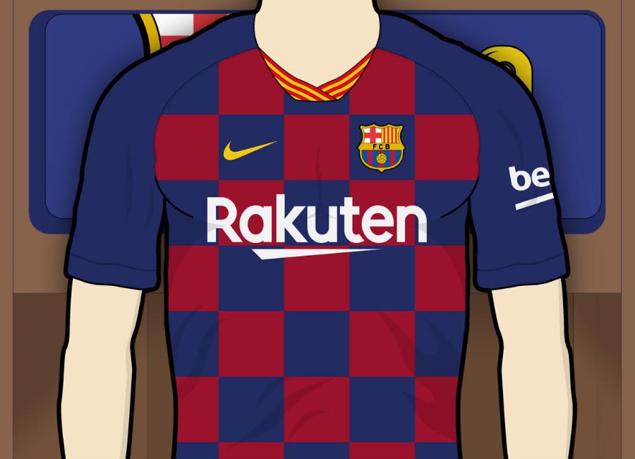 73156309ba8 Barcelona 2019-20 Home Kit Prediction  barca  fcbarcelona  barcelona  messi