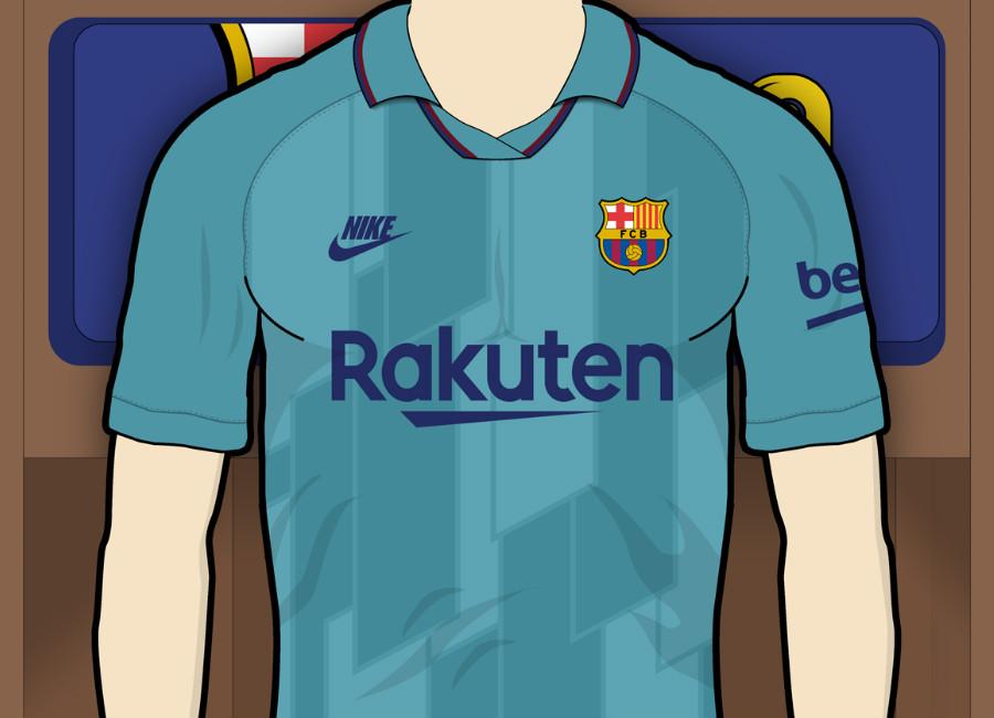 dd1997bd40b Barcelona 2019-20 Third Kit Prediction  barca  fcbarcelona  barcelona  messi