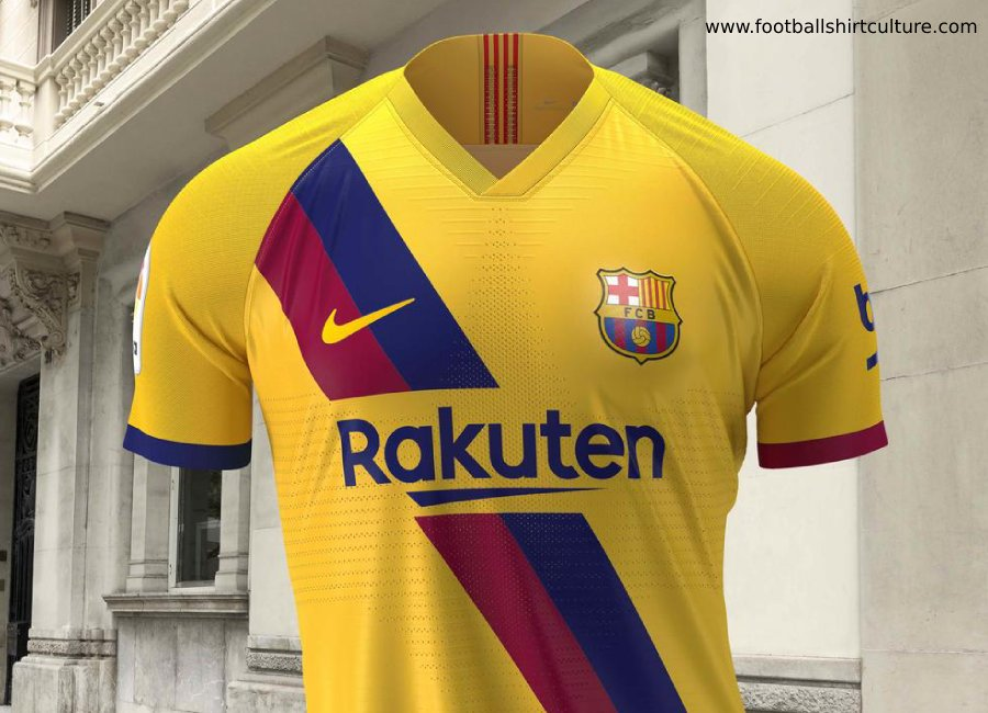 huge discount 1b181 40cca Barcelona 2019-20 Nike Away Kit | 19/20 Kits | Football ...