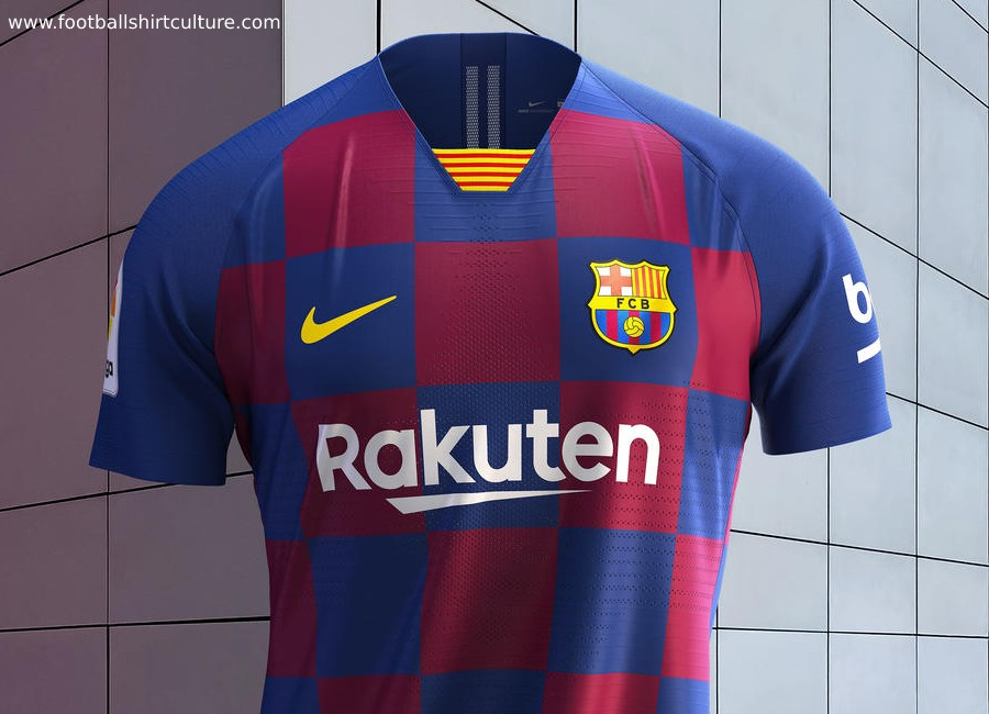 dfbf1f3c Barcelona 2019-20 Nike Home Kit | 19/20 Kits | Football shirt blog