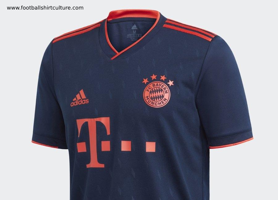 Bayern Munich 2019-20 Adidas Third Kit | 19/20 Kits | Football ...