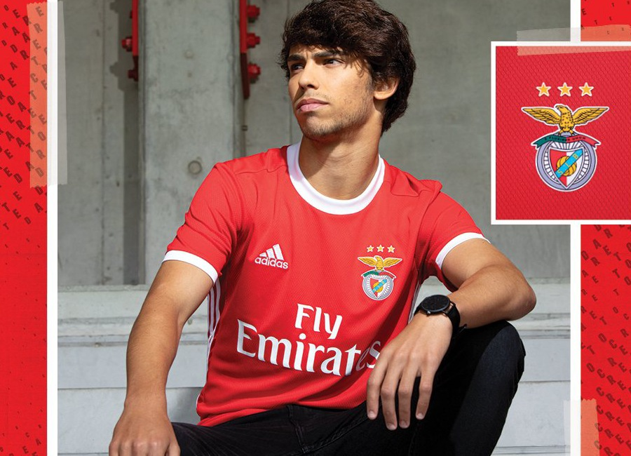 new product d951f 9af8f Benfica 2019-20 Adidas Home Kit | 19/20 Kits | Football ...