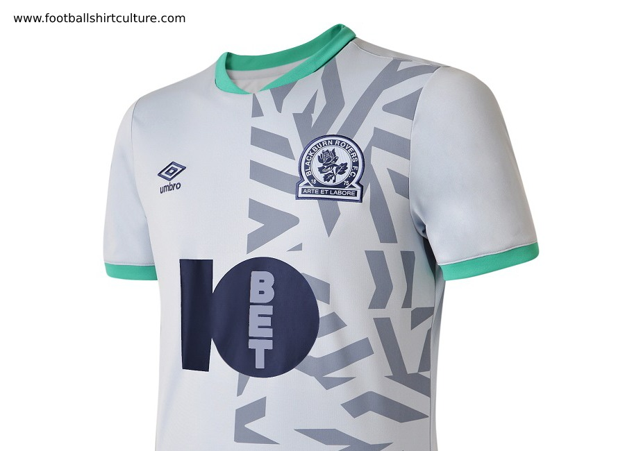 Blackburn Rovers 2019-20 Umbro Away Kit #BlackburnRovers #footballshirt #umbro