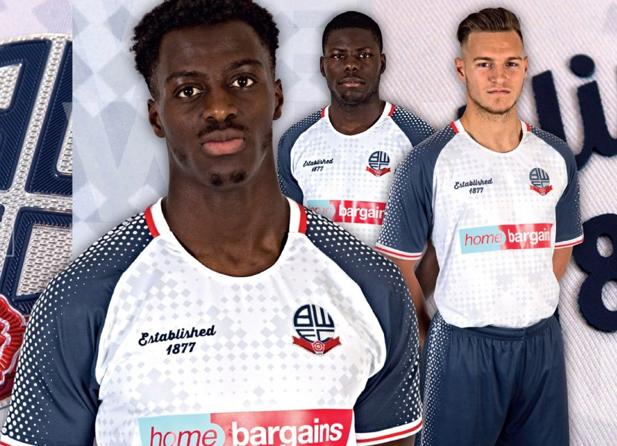 Bolton Wanderers 2019-20 Home Football Kit #boltonwanderers #bwfc