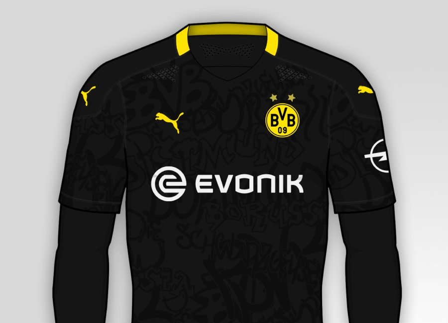 Borussia Dortmund 2020-21 Away Kit Prediction #BorussiaDortmund #bvb #echteliebe