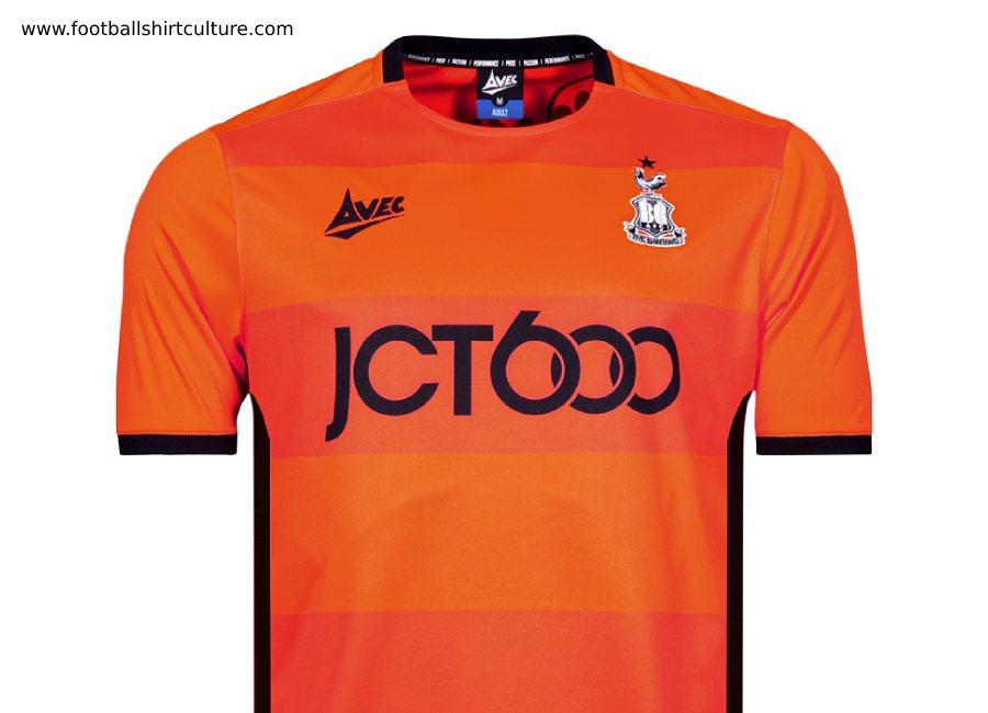 Airosportswear Bradford Established Football T-Shirt Black ...