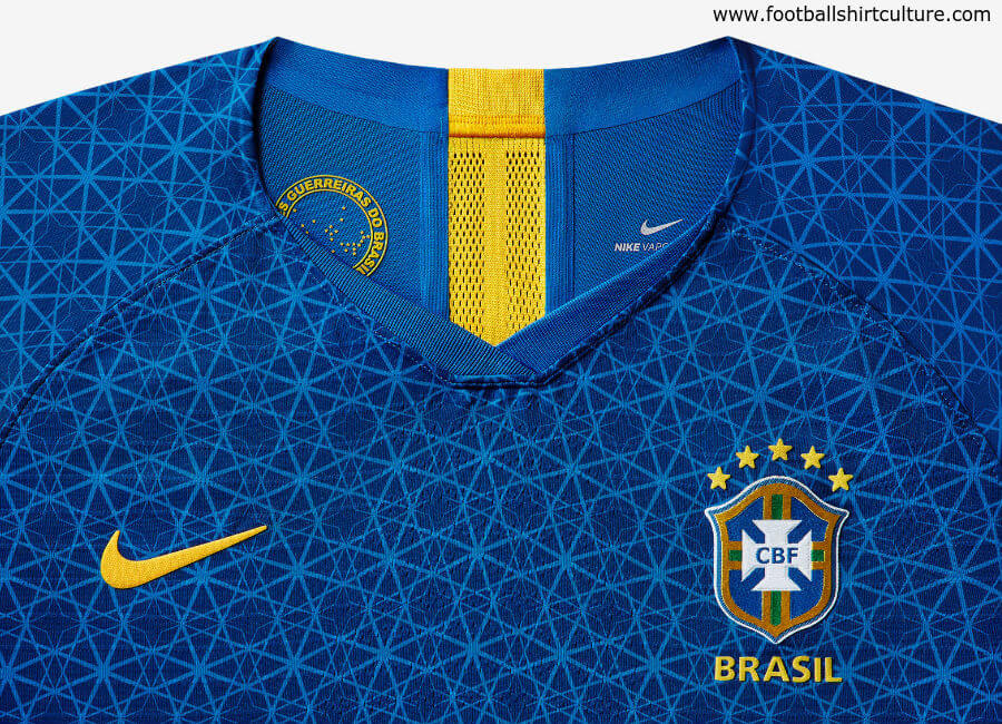Brazil 2019 Women's World Cup Nike Away Kit #nikefootball #nikesoccer #nikefutbol