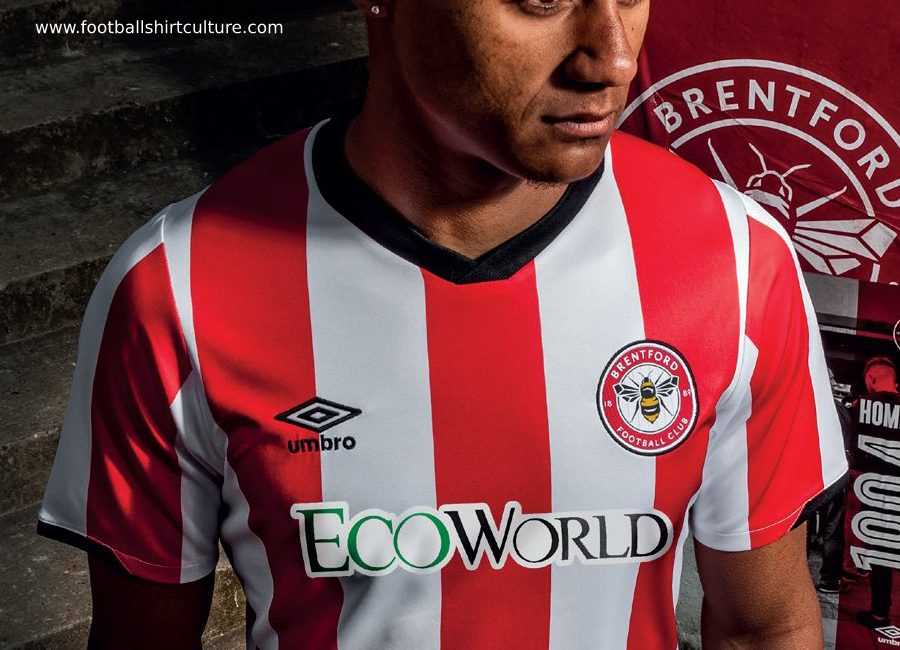 Brentford FC 2019-20 Umbro Home Kit #BrentfordFC #FarewellGriffinPark #umbro #WeAreBrentford