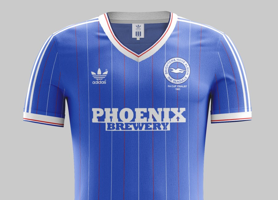 Top 35 #26 - Brighton & Hove Albion 1983 Home Kit #bhafc #BrightonAndHoveAlbion