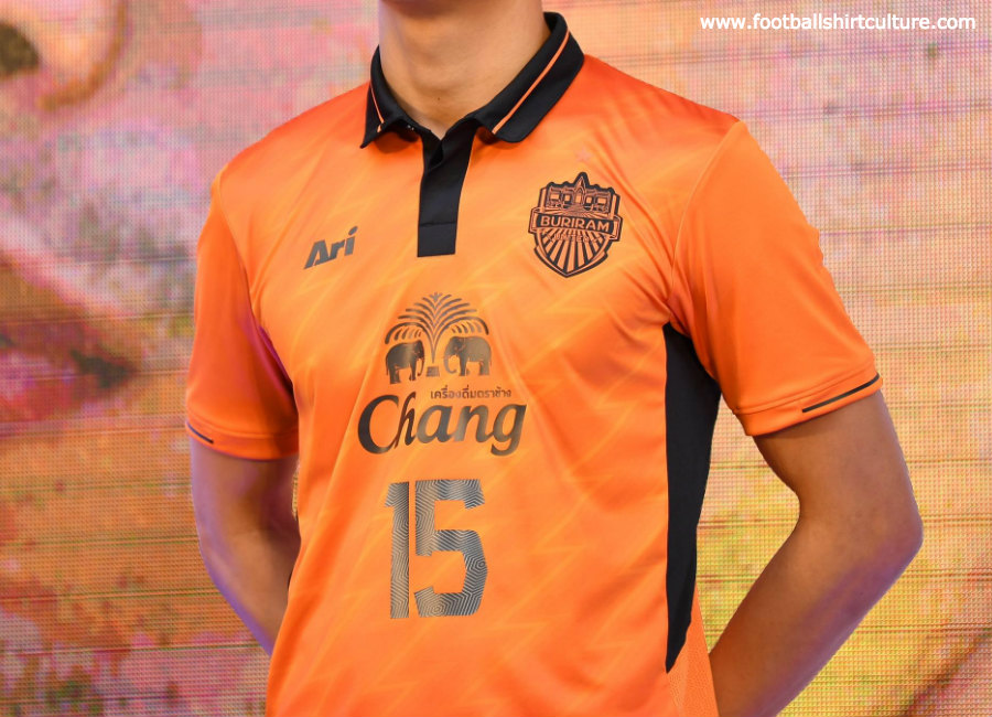 Buriram United 2019 ACL Ari Away Kit #BuriramUnited #footballshirt