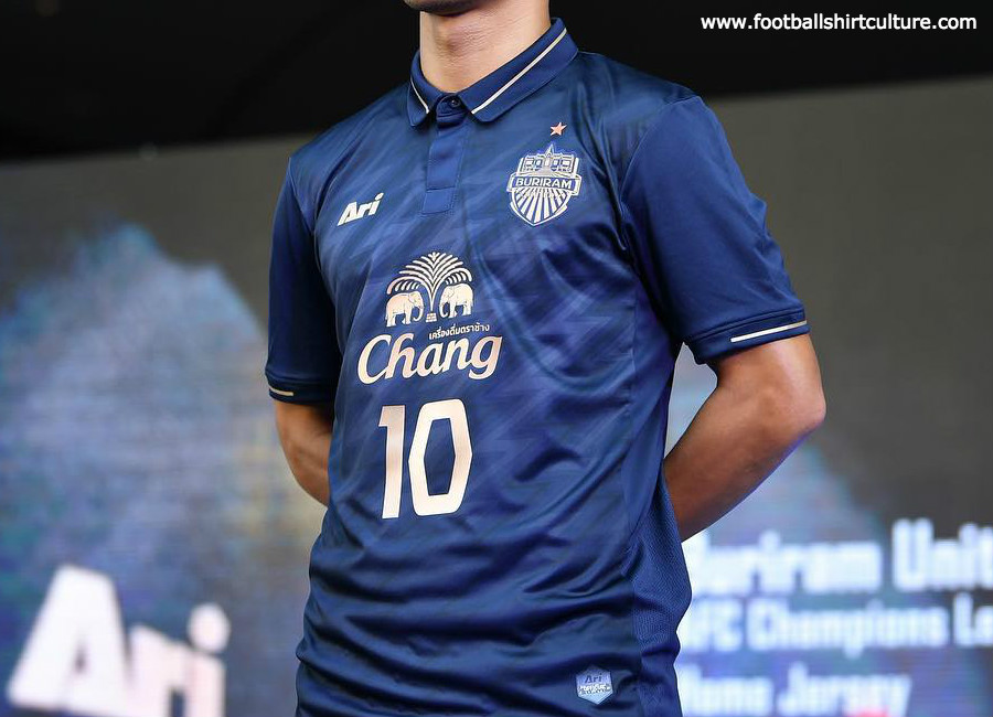 Buriram United 2019 ACL Ari Home Kit #BuriramUnited #footballshirt
