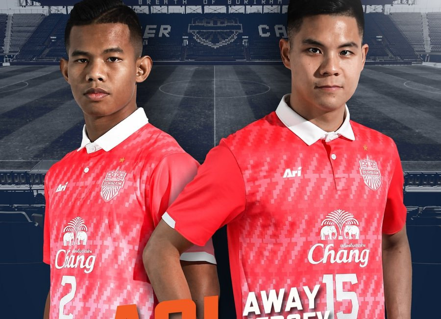 Buriram United 2020 Ari ACL Away Kit #BuriramUnited #buriramunitedfc #footballshirt