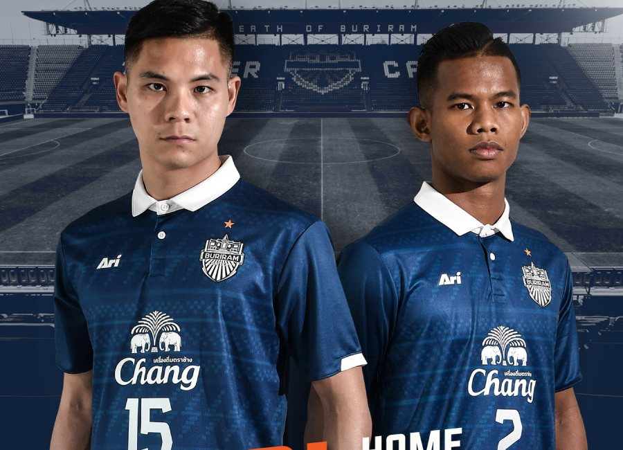 Buriram United 2020 Ari ACL Home Kit #BuriramUnited #footballshirt