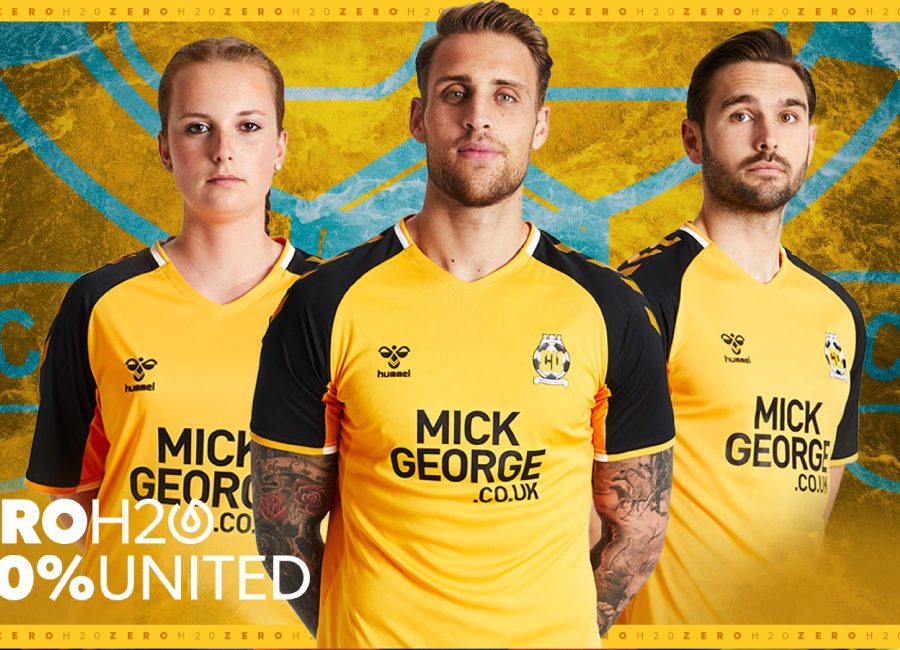 Cambridge United 2019-20 Hummel Home Kit #CambridgeUnited #cufc #CamUTD