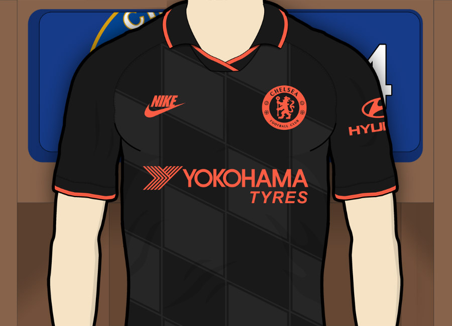 Chelsea 2019-20 Third Kit Prediction #chelsea #chelseafc #cfc